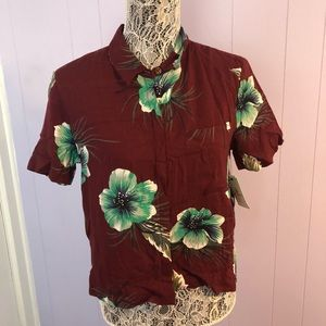 Volcom Fox tail palm shirt